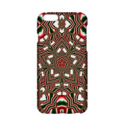 Christmas Kaleidoscope Apple iPhone 6/6S Hardshell Case
