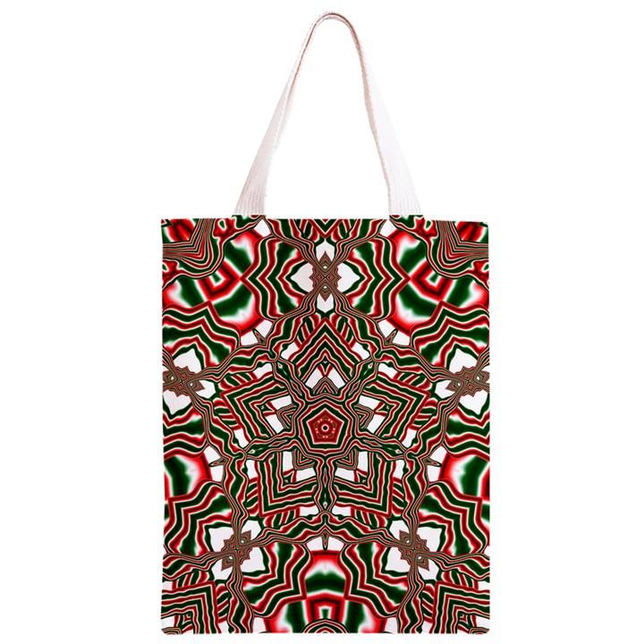 Christmas Kaleidoscope Classic Light Tote Bag