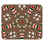 Christmas Kaleidoscope Double Sided Flano Blanket (Small)  50 x40 Blanket Front
