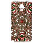 Christmas Kaleidoscope Galaxy Note 4 Back Case Front