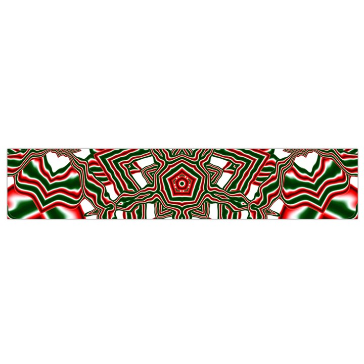 Christmas Kaleidoscope Flano Scarf (Small)