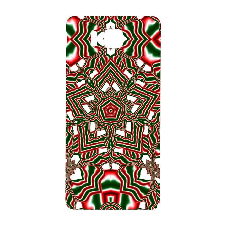 Christmas Kaleidoscope Samsung Galaxy Alpha Hardshell Back Case