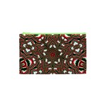 Christmas Kaleidoscope Cosmetic Bag (XS) Front