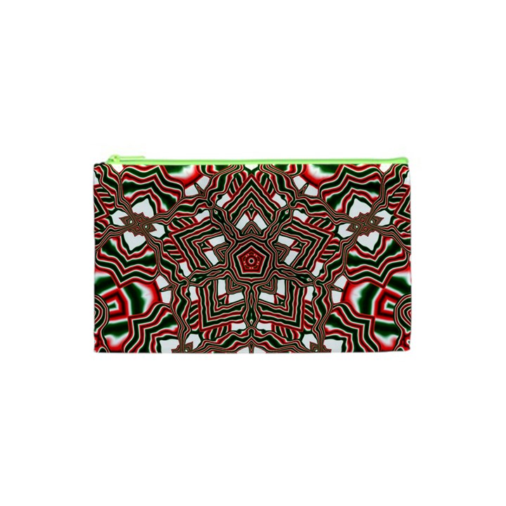 Christmas Kaleidoscope Cosmetic Bag (XS)