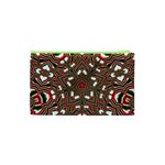 Christmas Kaleidoscope Cosmetic Bag (XS) Back
