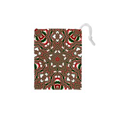 Christmas Kaleidoscope Drawstring Pouches (XS)