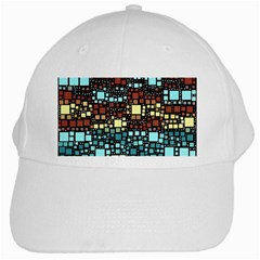 Block On Block, Aqua White Cap