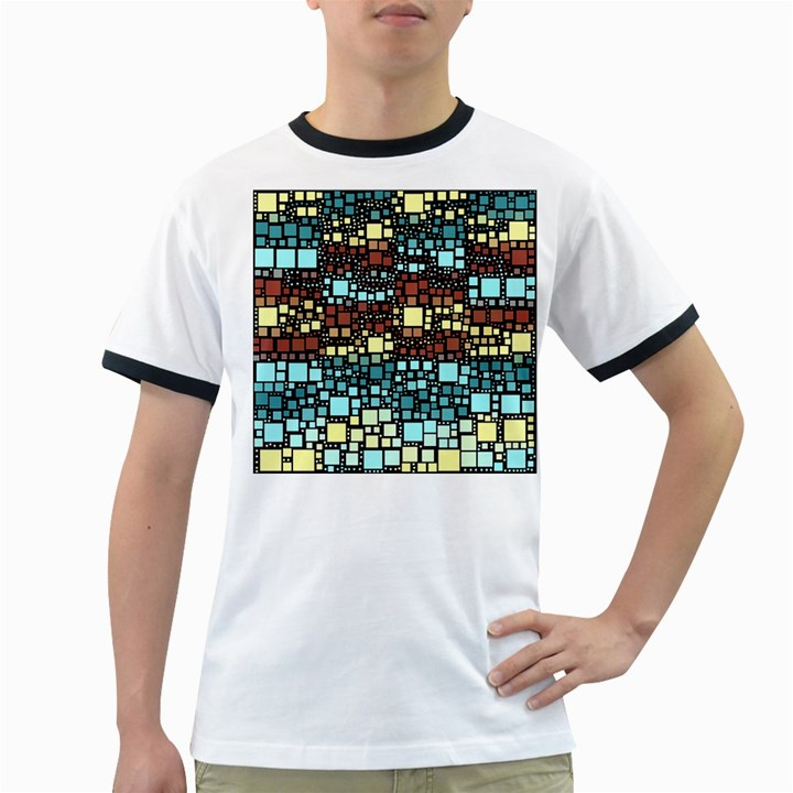 Block On Block, Aqua Ringer T-Shirts
