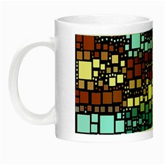 Block On Block, Aqua Night Luminous Mugs