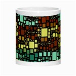 Block On Block, Aqua Night Luminous Mugs Center
