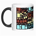Block On Block, Aqua Morph Mugs Left