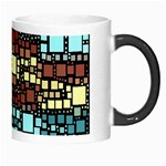 Block On Block, Aqua Morph Mugs Right