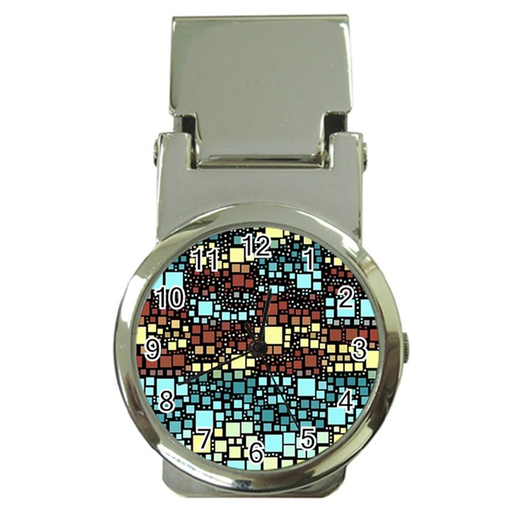 Block On Block, Aqua Money Clip Watches