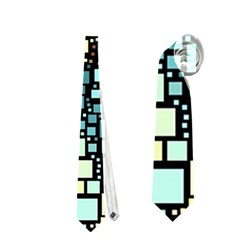Block On Block, Aqua Neckties (two Side)