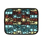 Block On Block, Aqua Netbook Case (Small)  Front