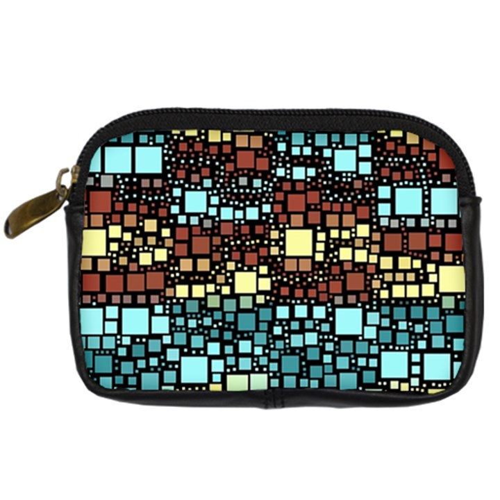 Block On Block, Aqua Digital Camera Cases