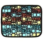 Block On Block, Aqua Netbook Case (XL)  Front