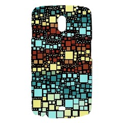 Block On Block, Aqua Samsung Galaxy Nexus i9250 Hardshell Case
