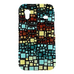 Block On Block, Aqua Samsung Galaxy Ace S5830 Hardshell Case