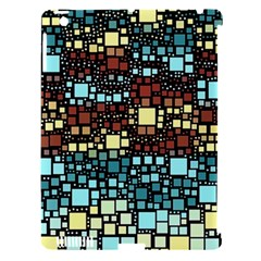 Block On Block, Aqua Apple Ipad 3/4 Hardshell Case (compatible With Smart Cover)