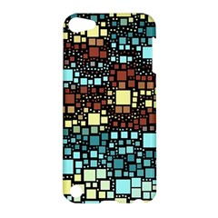 Block On Block, Aqua Apple Ipod Touch 5 Hardshell Case