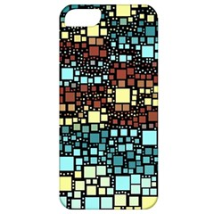 Block On Block, Aqua Apple iPhone 5 Classic Hardshell Case