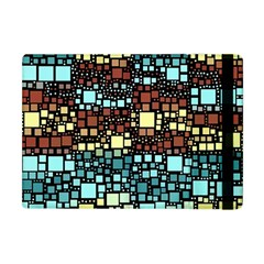 Block On Block, Aqua Apple iPad Mini Flip Case