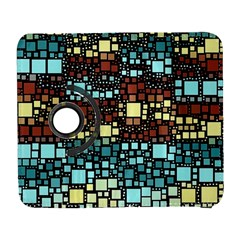 Block On Block, Aqua Samsung Galaxy S  III Flip 360 Case