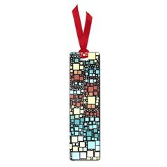Block On Block, Aqua Small Book Marks