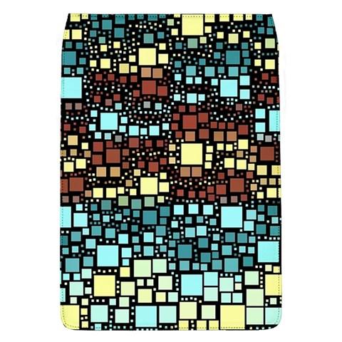 Block On Block, Aqua Flap Covers (L)