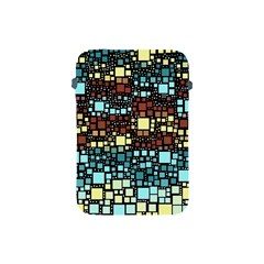 Block On Block, Aqua Apple iPad Mini Protective Soft Cases