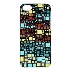 Block On Block, Aqua Apple Iphone 5c Hardshell Case