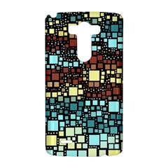 Block On Block, Aqua LG G3 Hardshell Case