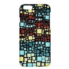 Block On Block, Aqua Apple iPhone 6 Plus/6S Plus Hardshell Case