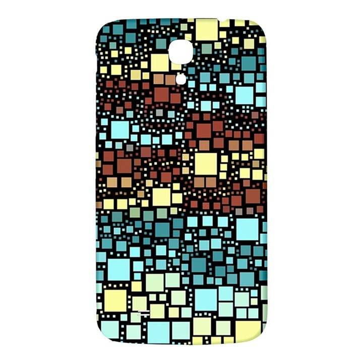 Block On Block, Aqua Samsung Galaxy Mega I9200 Hardshell Back Case