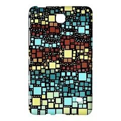 Block On Block, Aqua Samsung Galaxy Tab 4 (8 ) Hardshell Case