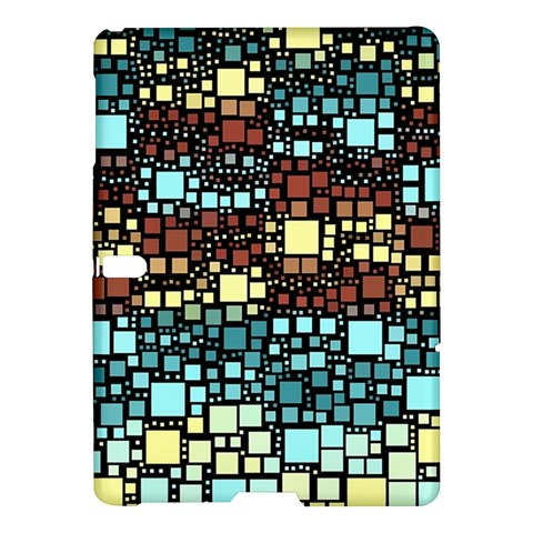 Block On Block, Aqua Samsung Galaxy Tab S (10.5 ) Hardshell Case