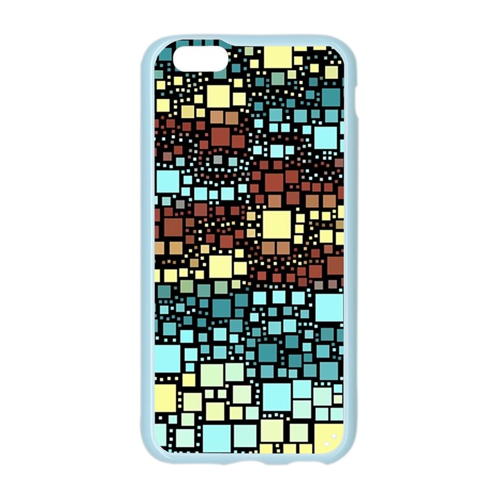 Block On Block, Aqua Apple Seamless iPhone 6/6S Case (Color)