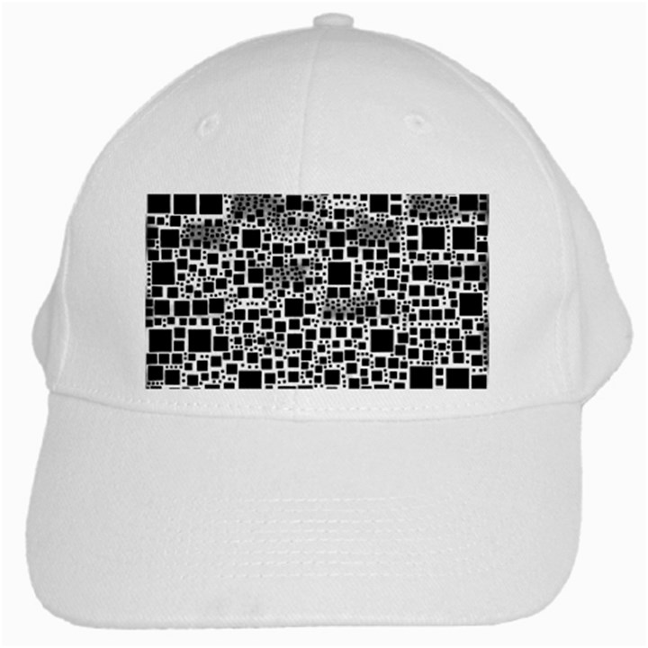 Block On Block, B&w White Cap