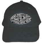 Block On Block, B&w Black Cap Front