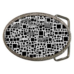 Block On Block, B&w Belt Buckles