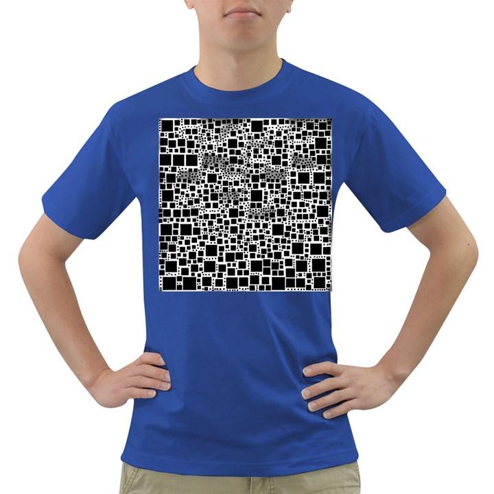 Block On Block, B&w Dark T-Shirt