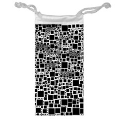Block On Block, B&w Jewelry Bags