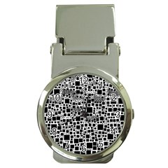 Block On Block, B&w Money Clip Watches