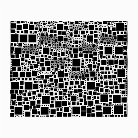 Block On Block, B&w Small Glasses Cloth (2-Side)
