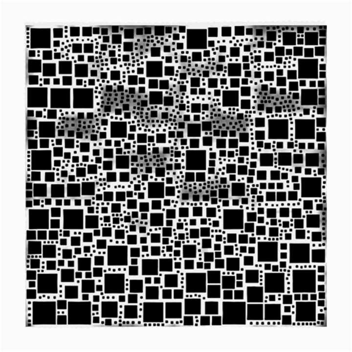 Block On Block, B&w Medium Glasses Cloth (2-Side)
