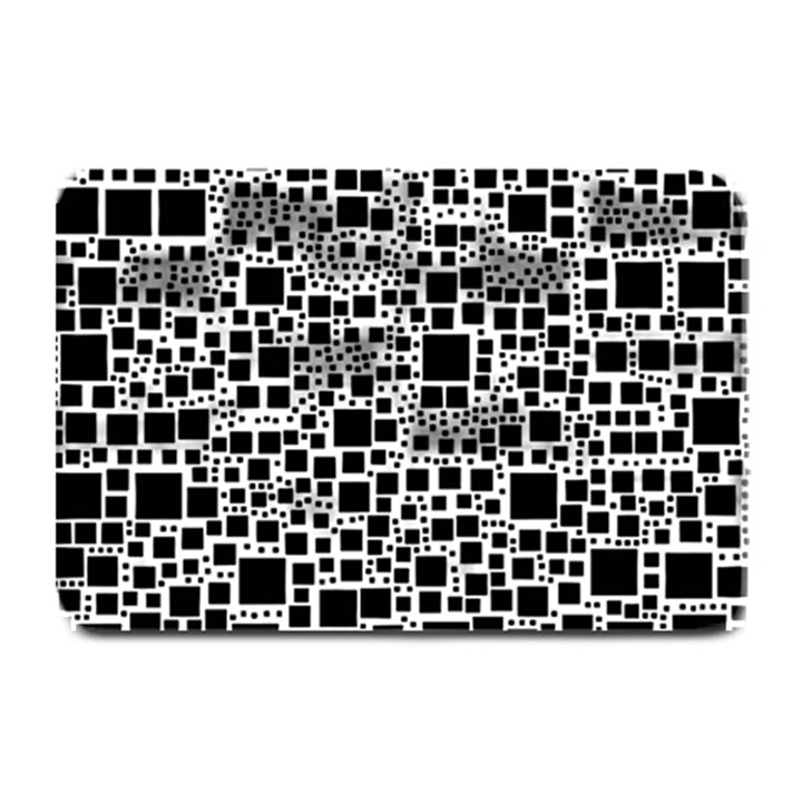 Block On Block, B&w Plate Mats