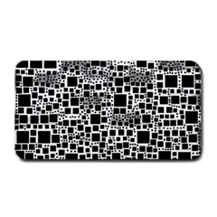 Block On Block, B&w Medium Bar Mats