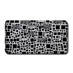 Block On Block, B&w Medium Bar Mats 16 x8.5 Bar Mat - 1