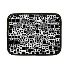 Block On Block, B&w Netbook Case (Small)